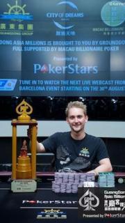 niklas heinecker winner asia millions