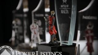 Die Trophäe des Battle of Malta 2014
