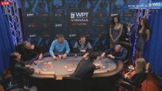 Der Final Table der WPT Wien 2015