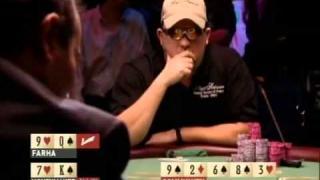 Chris Moneymaker beim Bluff der die Pokergeschichte veränderte