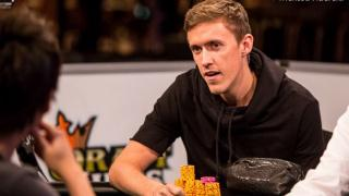 Max Kruse am Final Table bei der WSOP 2014