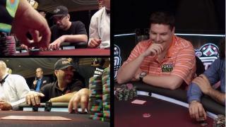 Mike Matusow, Shaun Deeb und Matt Glantz bei Poker Night in America