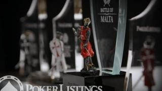 Die Trophäe des Battle of Malta 2014