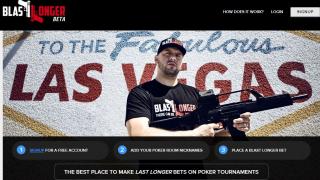Auf der neuen Seite BlastLonger kann man Last Longer Bets für Pokerturniere platzieren