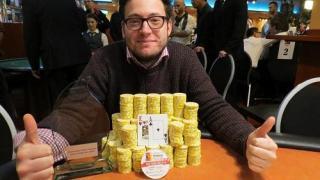 Der neue deutsche Pokermeister Christian Viereck