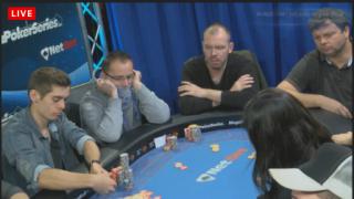 Fedor Holz und Sebastian Langrock am Final Table