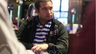 Ismael Bojang bei der WSOP APAC 2014