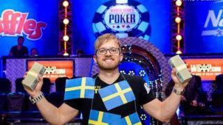 Der neue Poker-Weltmeiser Martin Jacobson