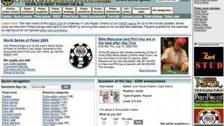 So sah die Seite bei ihrem Start im Jahr 2003 aus
