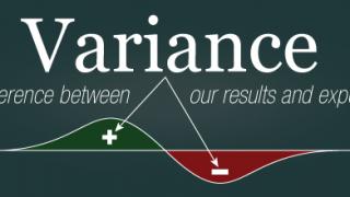 Die Definition von Varianz
