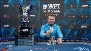 Der Deutsch-Grieche Konstantinos Nanos gewann die WPT Wien
