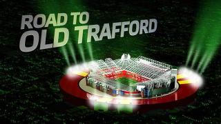road to old trafford banner