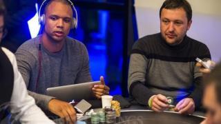 Phil Ivey Antanas Tony G Guoga2013 WSOP EuropeEV035K Mixed MaxDay1Giron8JG9778