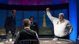 WSOP Bracelet Winner Roger Hairabedian2013 WSOP EuropeEV052K NLHFinal TableGiron7JG9058