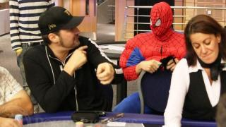 Phil Hellmuth spiderman