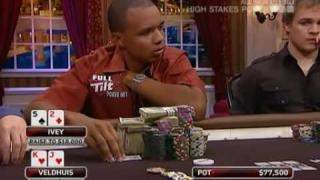 Phil Ivey bei seinem legendren Bluff gegen Lex Veldhuis bei High Stakes Poker