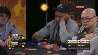 Phil Ivey beim Aussie Millions Cash Game 2014