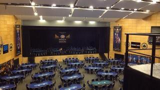 Der Turniersaal des Battle of Malta 2014
