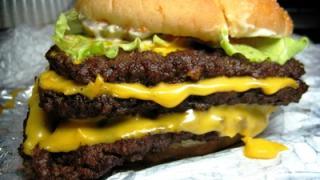 three triple burger