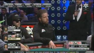 Jorryt van Hoof ist massiver Chipleader am WSOP Final Table