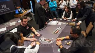Heads UpDan OBrienJason Mann2013 WSOP EuropeEV035K Mixed MaxDay3Giron7JG8929