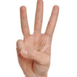 three triple fingers