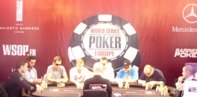 WSOPE LIVE! – Event Nr. 3, €5k PLO, FINAL TABLE