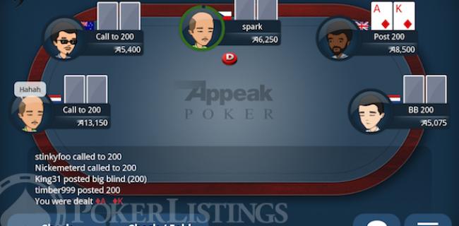 Länderkämpfe und höhere Boni bei Appeak Poker