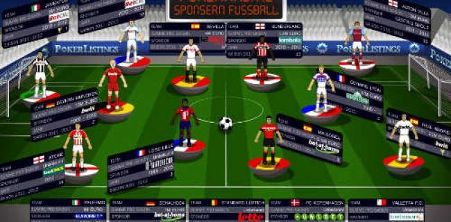 Pokerräume sponsern Fußballclubs