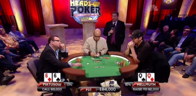 Hellmuth vs. Matusow - das NBC Heads-up Finale