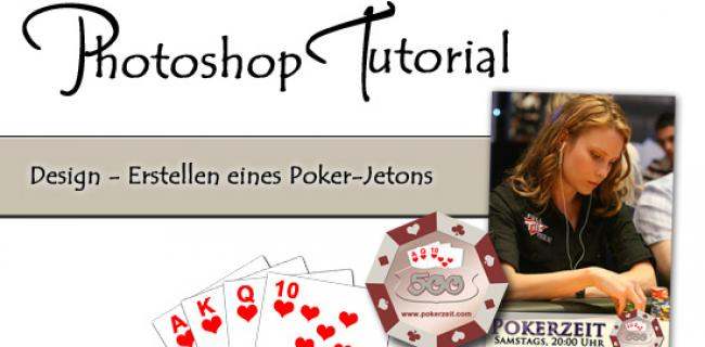 Geniales Video-Tutorial: Pokerchips mit Photoshop