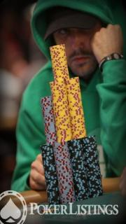 player with chips