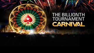 Billionth Tournament PokerStars