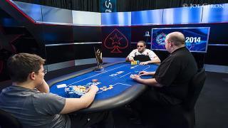 Jake Schindler Greg Merson25K High RollerDay 32014 PCAGiron7JG1685