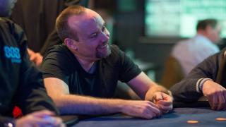 Die irische Pokerlegende Andy Black saß in Dublin am Final Table