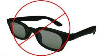 verbotsschild sonnenbrille
