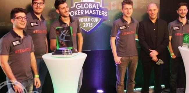 Team Italy Global Poker Masters 2015