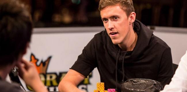 Max Kruse am Final Table bei der WSOP 2014